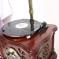HYLH Sistema estéreo con Tocadiscos Reproductor de CD Radio ...