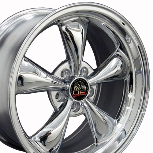 OE Wheels 18 Inch Fits Ford Mustang 1994-2004 Bullitt Style FR01 Chrome 18x9 Rim Hollander 3448