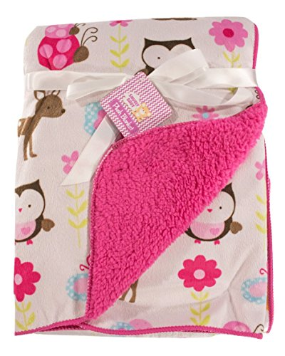snugly-baby-deluxe-sherpa-plush-blanket-pink