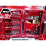 Milwaukee GEN II Shockwave Impact Duty Drill Driving Set 40 Piece