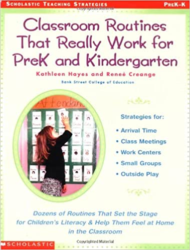 What Do We Really Know About Pre K >> Classroom Routines That Really Work For Pre K And Kindergarten