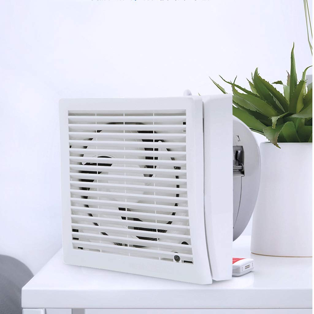 Exhaust Fan Simply Silent Contour Extractor Fan,Glass Or Wall Hole Size Φ185-195mm with Air Curtain ZHAOSHUNLI 828 by Exhaust Fan