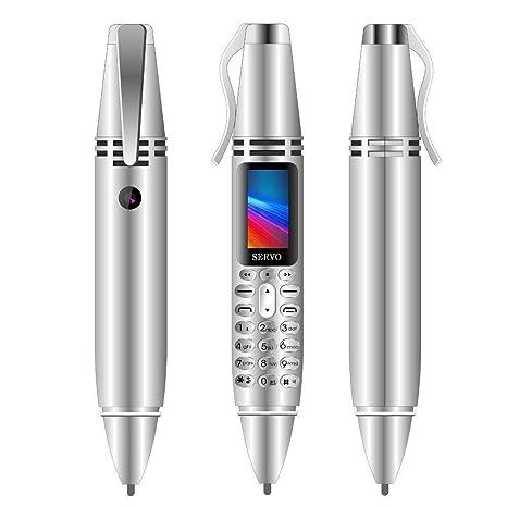 Amazon.com: Mini teléfono celular Pen estilo Bluetooth ...