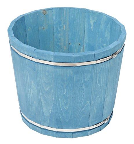Susquehanna KPLB875 SGC in a Box Large Pine Barrel Planter, 18.5 x 18.5 x 15.5