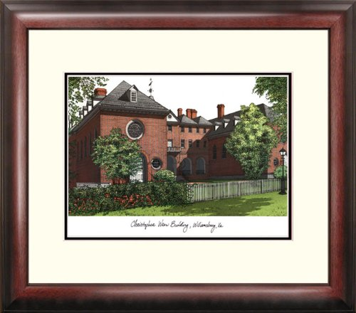 Campus Images ''College of William and Mary Alumnus Framed Lithographic Print