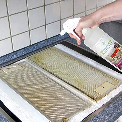 Limpiador de cocina brillante – Spray desengrasante – Limpiador de fuerza ecológico para cualquier superficie brillante (concentrado da 25 litros de limpiador de cocina).: Amazon.es: Salud y cuidado personal
