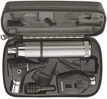 Welch Allyn 3.5v Otoscope Ophthalmoscope Set with C Cell Handle in Case by KSIPL