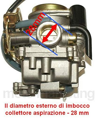 Racing CARBURATORE Automatico per Peugeot VCLIC V CLIC RIEJU Paseo TOREO 4T 50 Unbranded