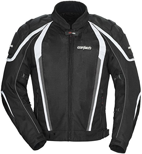 Cortech GX-Sport Air 4.0 Mens Black Mesh/Textile Jacket - X-Large