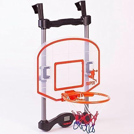 Para niños electrónico sobre la puerta colgar Baloncesto Juguete ...
