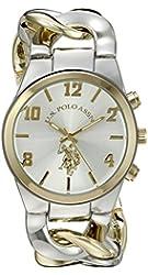 U.S. Polo Assn. Women's USC40173 Analog Display Two-Tone Watch
