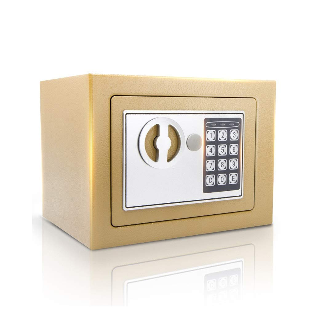 Boxes & Organisers Small Digital Password Safe Steel Structure Home Office Security Double Lock Security Lock-230170170mm (Color : C)