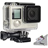 Deyard GoPro Hero 4 /Hero 3+ ケース スポーツカメラCase 45m防水ハウジングケース 水中撮影