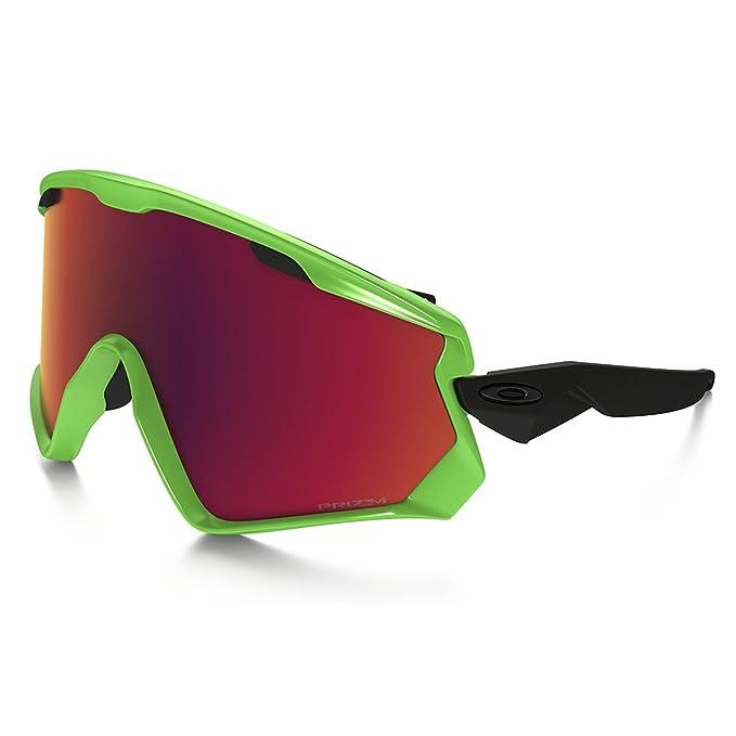 Oakley Wind Jacket 2.0 707204 0 Gafas deportivas, Verde (80S Green ...
