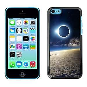Cubierta de la caja de protección la piel dura para el Apple iPhone 5C - Space Planet Galaxy Stars 51