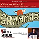 A Way With Words Part III: Grammar for Adults Lecture by Michael D.C. Drout