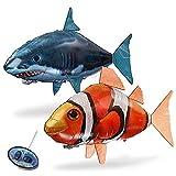 Candora Inflatable Shark/Clownfish Toy Flies