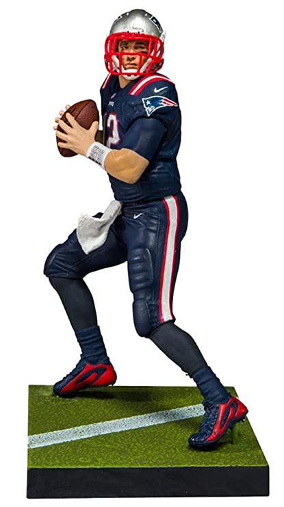 deee1926d85 Image Unavailable. Image not available for. Color  McFarlane Toys EA Sports  Madden NFL 18 Ultimate Team Tom Brady New England Patriots ...