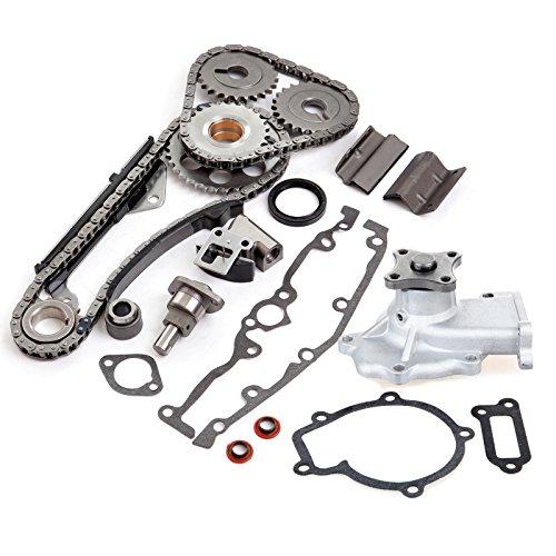 ECCPP TK3024 Timing Chain Water Pump fits for 1991-1999 1997 Nissan Sentra 1.6L DOHC GA16DE