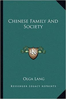 Book Chinese Family and Society