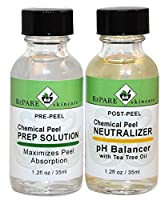 Chemical Peel Kit Prep Solution & Neutralizer - TCA, Glycolic, Salicylic, Jessner's, Lactic Acid Peels