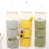3Pcs Wall Hanging Storage Bag, Creatiee