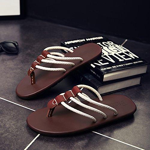 fankou della sandali Uomini scuola secondaria 44 di estate e versatile marea sandali moda junior gli moda giovane e e fresco alla DB personalità studenti 11rcqO4B