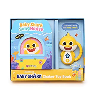 Pinkfong Baby Shark Official Shaker Toy Book