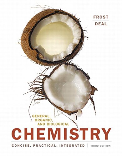 General, Organic, and Biological Chemistry (3rd Edition) by Pearson