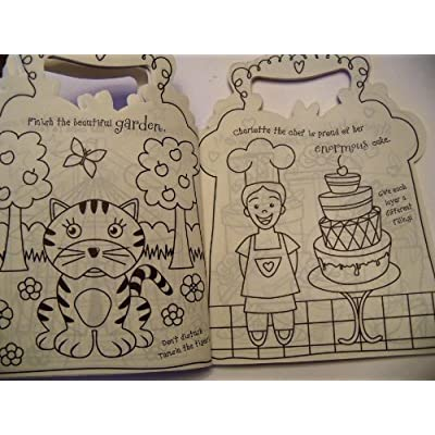 The Wilderness My Perfectly Purple Coloring Purse Traveling Coloring Book with Over 50 Color Stickers: Toys & Games