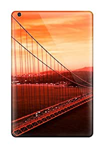 Shauna Leitner Edwards's Shop 4888097K19579064 New Arrival Case Cover With Design For Ipad Mini 3- Golden Gate Bridge