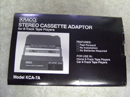 Kraco radio wiring caset player anything wiring diagrams kraco stereo 8 track cassette adaptor kca 7a amazon com books rh amazon com cheapraybanclubmaster Image collections