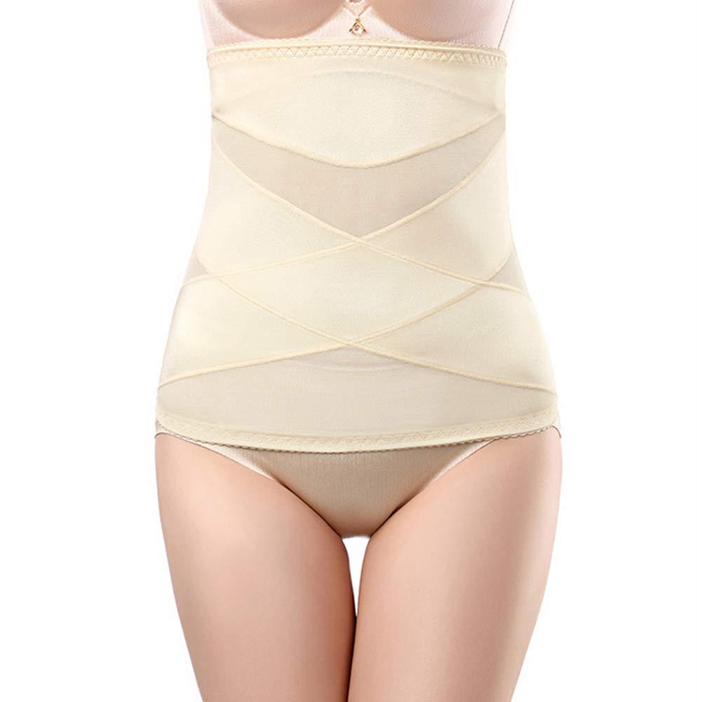 Trkee Summer Women Abdomen Belt Thin No Trace Breathable Postpartum Body Shaping Girdle