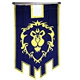Xcar Cosplay World of Warcraft Alliance Banner Flag