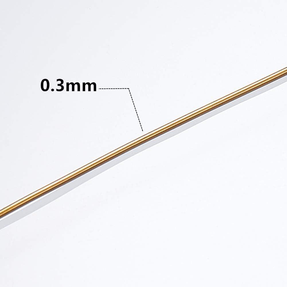 BENECREAT 24-Gauge Tarnish Resistant Copper Wire 98-Feet//33-Yard