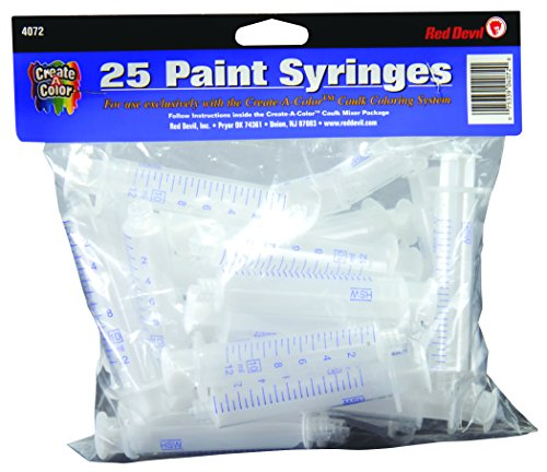 Red Devil 4072 Create-A-Color Syringe