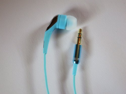 Turquoise 1-BUD-Pro w/ zippered case and 3 sizes of eartips Photo #4