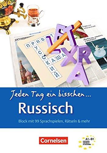 Lextra   Russisch   Jeden Tag Ein Bisschen Russisch  A1 B1   Selbstlernbuch
