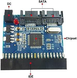 "3.5""IDE to SATA Bi-Directional Adapter JM20330 Chipset HDD Bi-Directional Dongle"