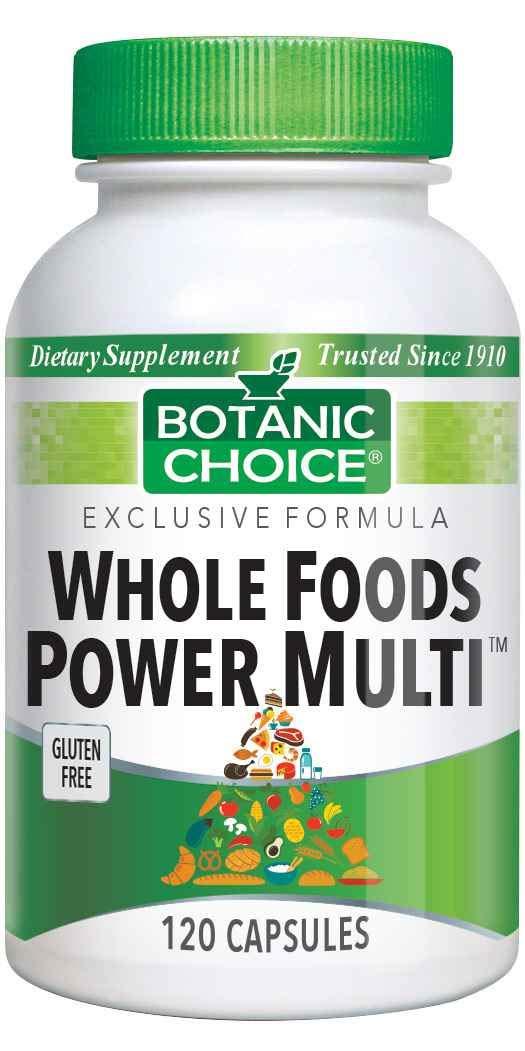 Botanic Choice Whole Food Power Multi Capsules, 120 Count