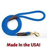 Mendota Dog Products Snap Leash, 1/2-Inch by 6-Feet, Blue, My Pet Supplies