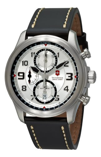 Victorinox Swiss Army Men's 251449 Infantry Vintage Chrono Automatic Silver Chronograph Dial Watch