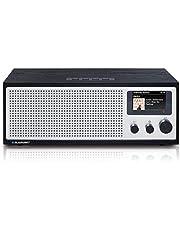 BLAUPUNKT Napoli IRD 400 DAB* internetradio met wifi/WLAN en Bluetooth - 20 Watt RMS radio met LCD-kleurendisplay, radio met wekker, stereo radio