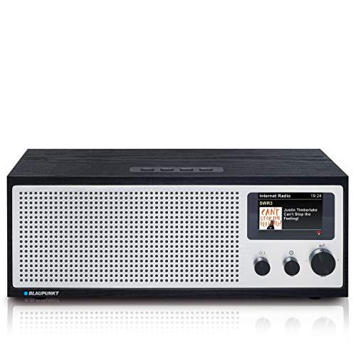 BLAUPUNKT Napoli IRD 400 DAB* internetradio met wifi/WLAN en Bluetooth – 20 Watt RMS radio met LCD-kleurendisplay