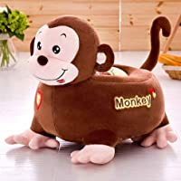 Chocozone Stylish Monkey Sofa Chair for Kids Plush Chair for Boys & Girls Animal Soft Toys Home Décor for Kids Room