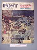 The Saturday Evening Post Dec. 24-Dec.31,1960 cover only (cover art by Ben Kimberly Prins)Commuter station snowed in.