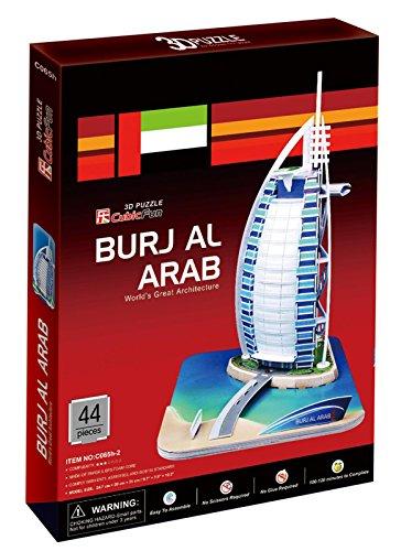 Mehano 58764-Puzzle Burj Al Arab-Dubai Burj Al Arab Puzzle