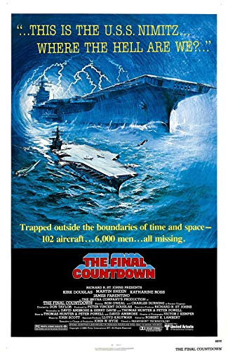 qualityprint The Final Countdown Home Decor Print Movie Poster 18'' X 28'' (NOT A DVD)