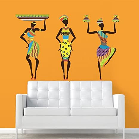 Amazon.com: Full Color Pared Vinilo Adhesivos Decor Arte ...