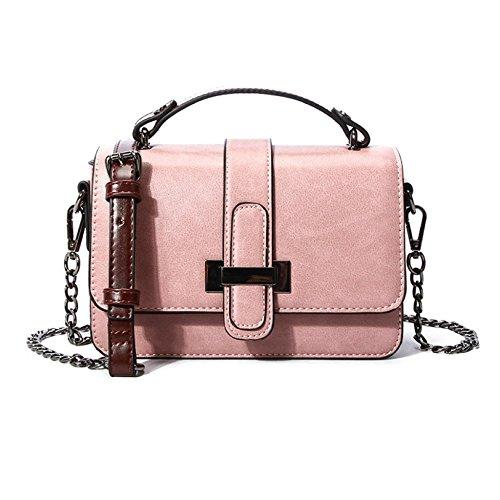 Chaîne Travail Sacs Mode Pour Les Pink Sac Carré Féminin Sac De Petit Messenger Sac Réglable Féminins De Sac Fourre Femmes tout Ryyy RqTWdER
